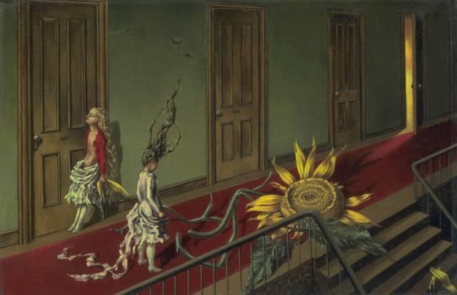 Eine Kleine Nachtmusik 1943 by Dorothea Tanning born 1910
