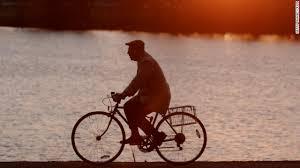 miller on a bike