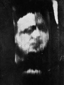 TV image, first ever, 1926