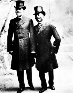 Bert Williams and George Walker - c. 1903